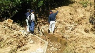 西日本豪雨災害の復旧