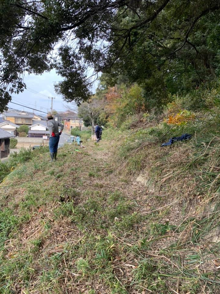 日尾八幡神社清掃