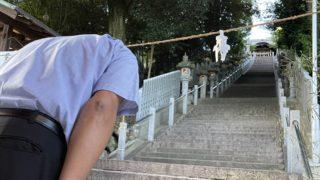 日尾八幡神社夏越し